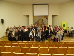 Marijampolės vyskupo M. Valančiaus blaivystės sąjūdžio 25 metų jubiliejaus minėjimas